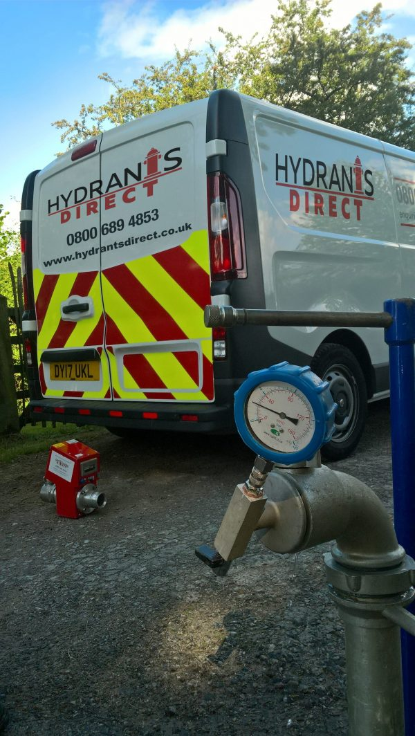 Engineer Servicing Hose Reels