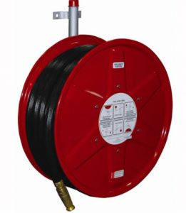 fire hose reel side view